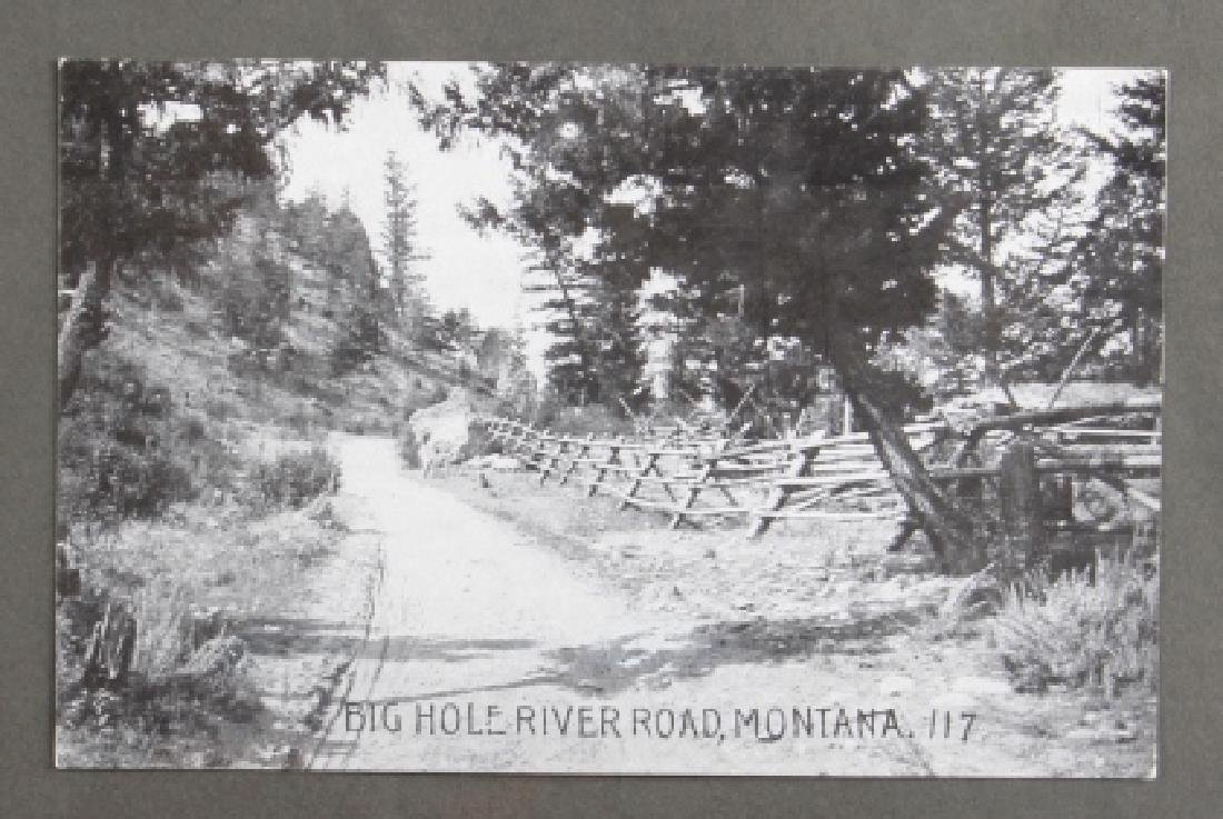 Early Real Photo Montana Gold Mining Post Cards - 2