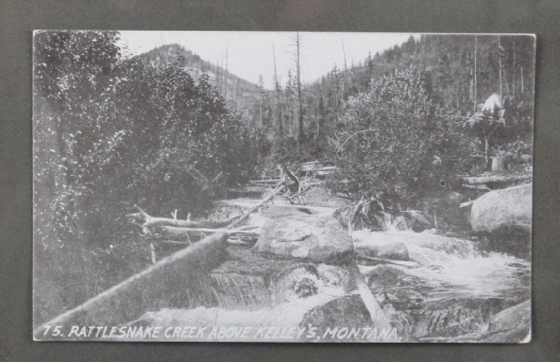 Early Real Photo Montana Gold Mining Post Cards - 3