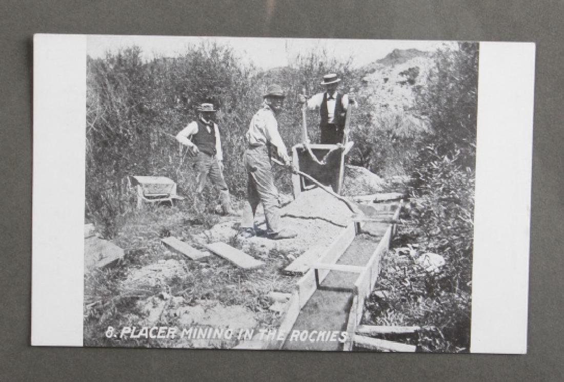 Early Real Photo Montana Gold Mining Post Cards - 8