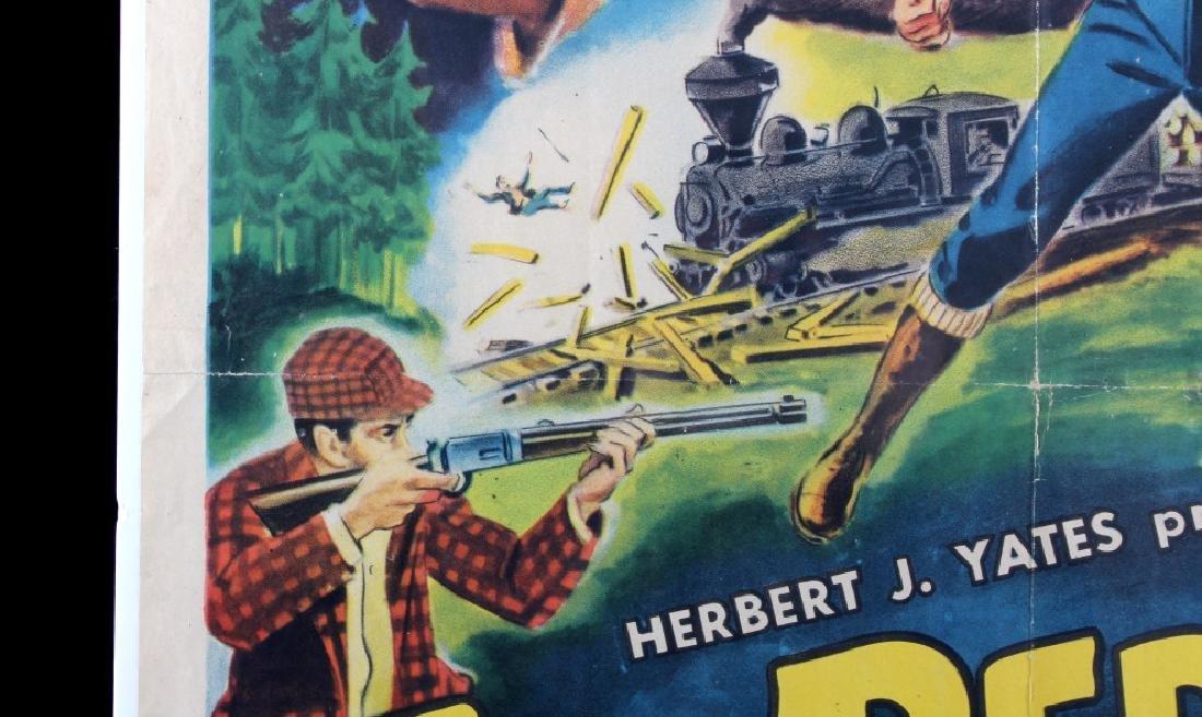 Original 1955 Timberjack Movie Poster - 5