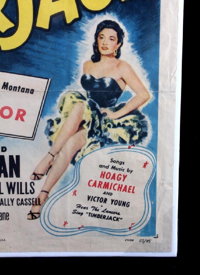 Original 1955 Timberjack Movie Poster - 7