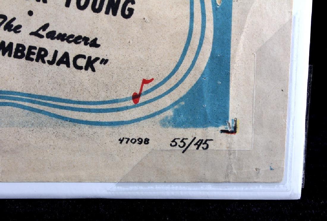 Original 1955 Timberjack Movie Poster - 9
