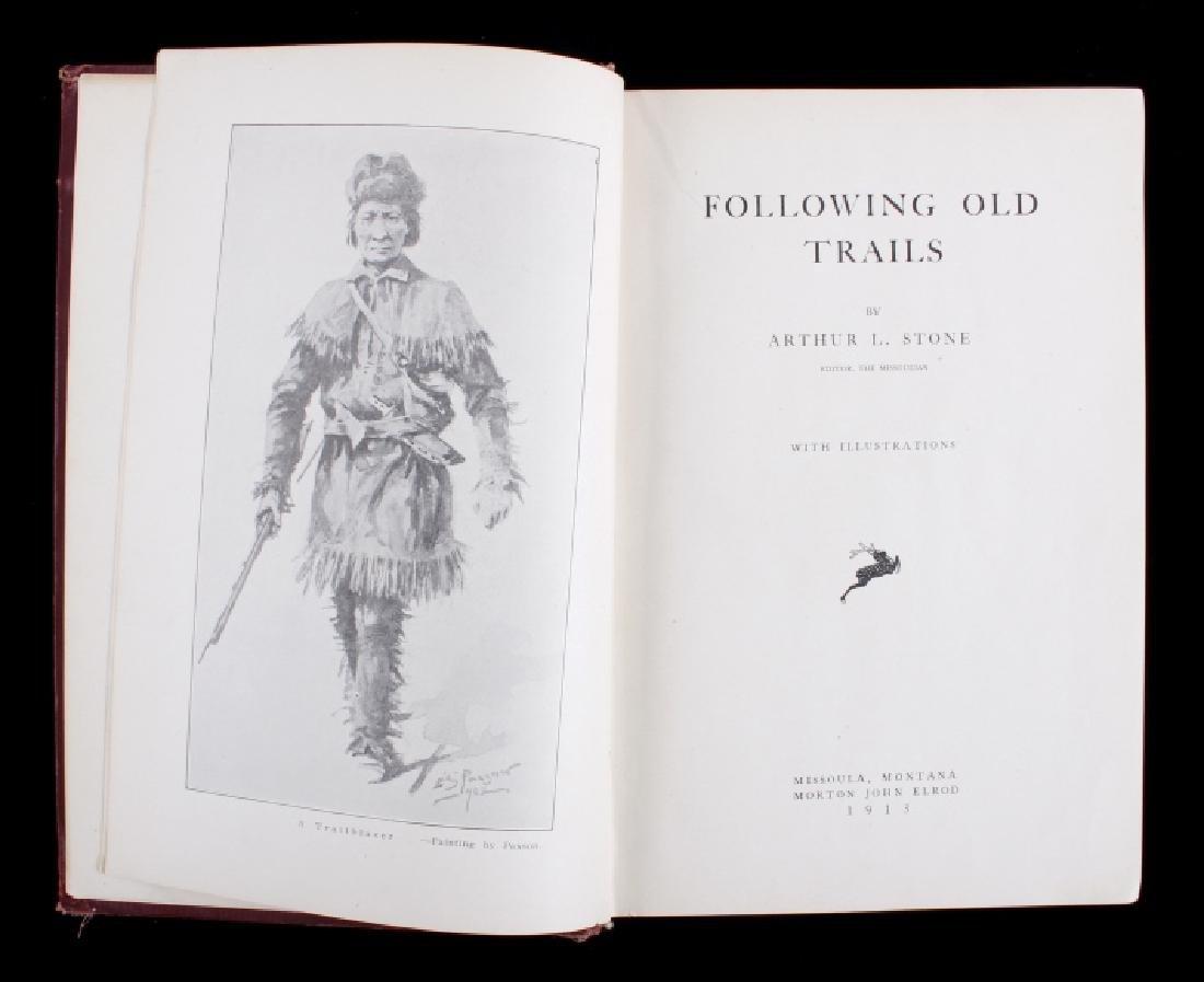 Following Old Trails 1st Edition - Arthur L. Stone - 5