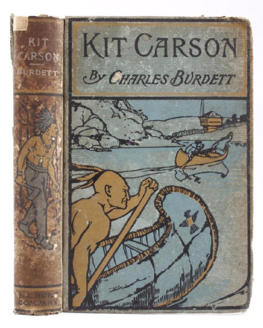 The Life of Kit Carson - Charles Burdett RARE