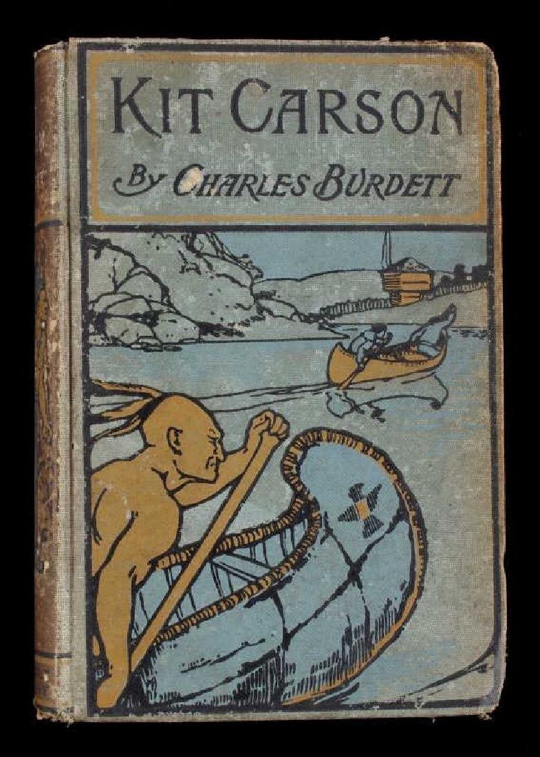The Life of Kit Carson - Charles Burdett RARE - 2