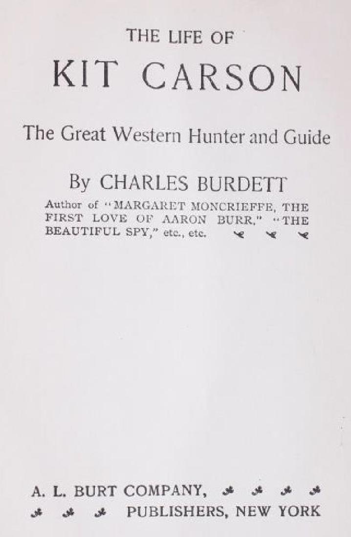 The Life of Kit Carson - Charles Burdett RARE - 3