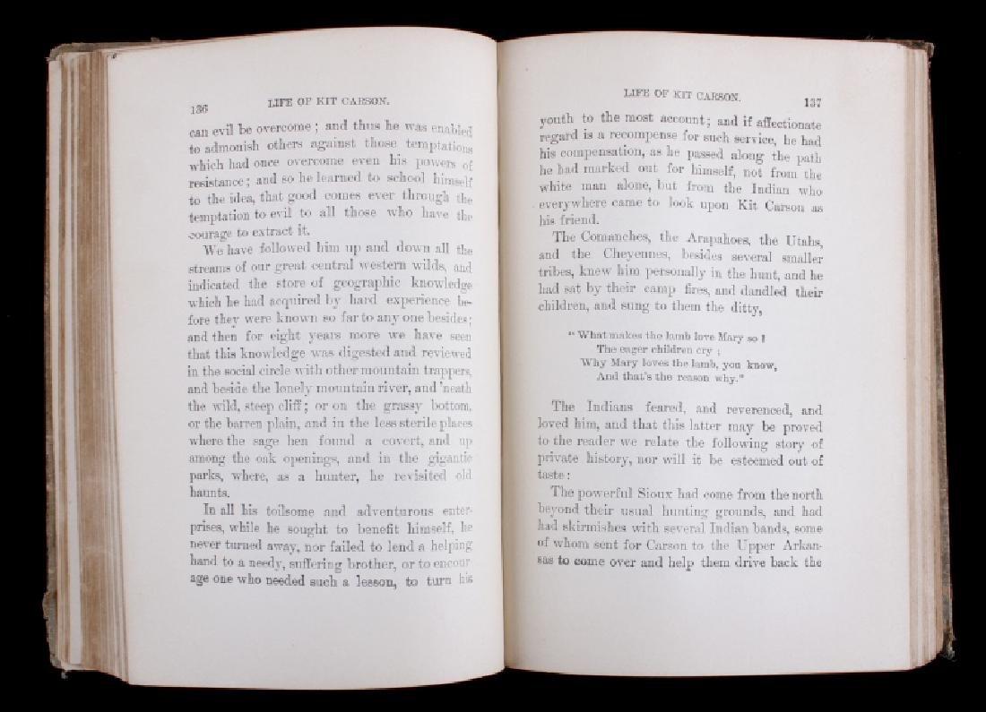 The Life of Kit Carson - Charles Burdett RARE - 5