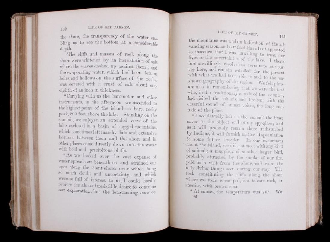 The Life of Kit Carson - Charles Burdett RARE - 6