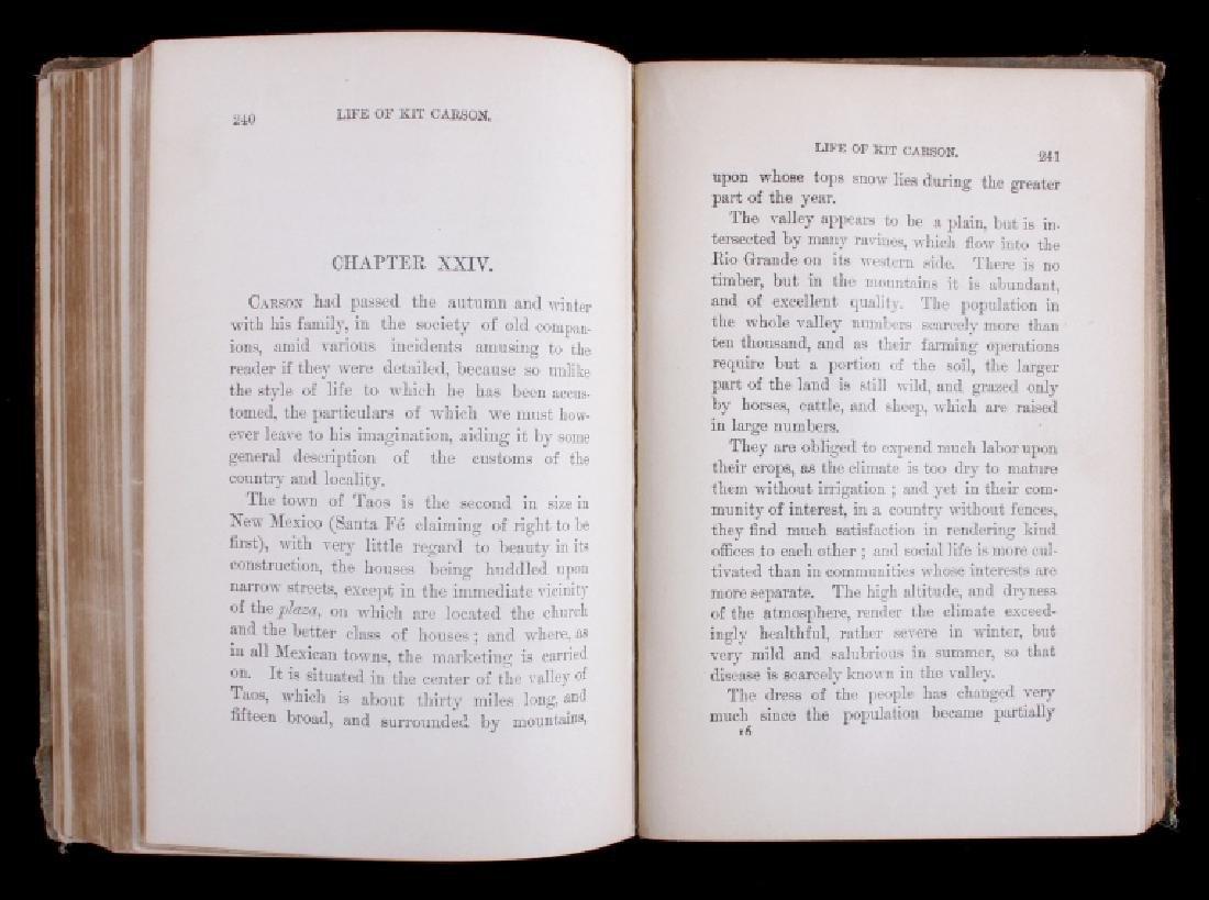 The Life of Kit Carson - Charles Burdett RARE - 7