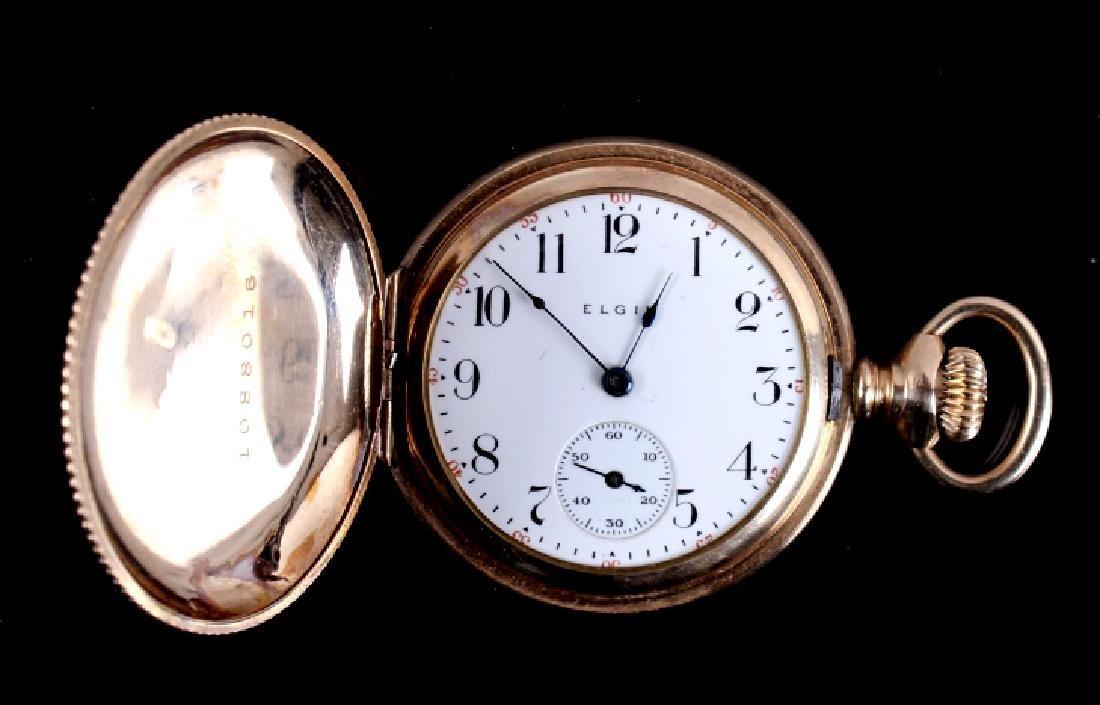 Elgin 15Jewel 14K Gold Filled Pocket Watch