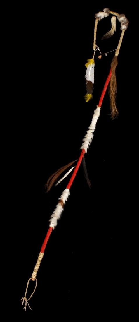 Plains Indian Ornate Chiefs Coup Stick