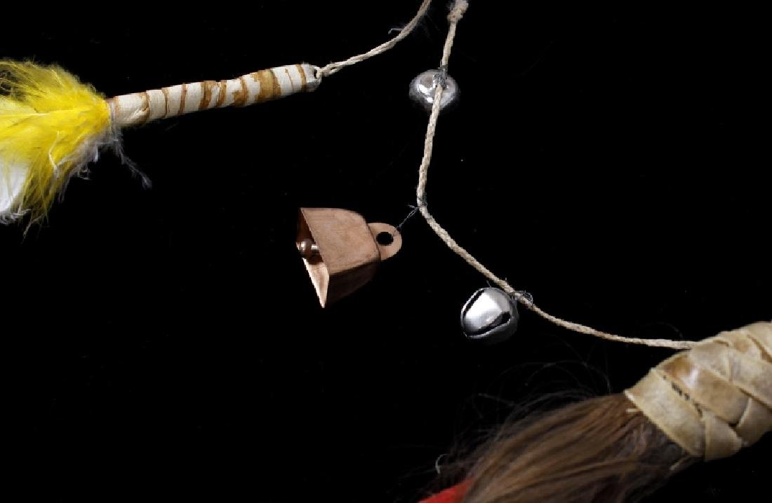 Plains Indian Ornate Chiefs Coup Stick - 8