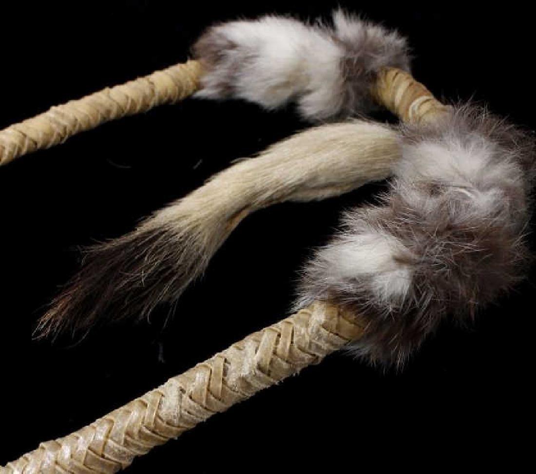 Plains Indian Ornate Chiefs Coup Stick - 9