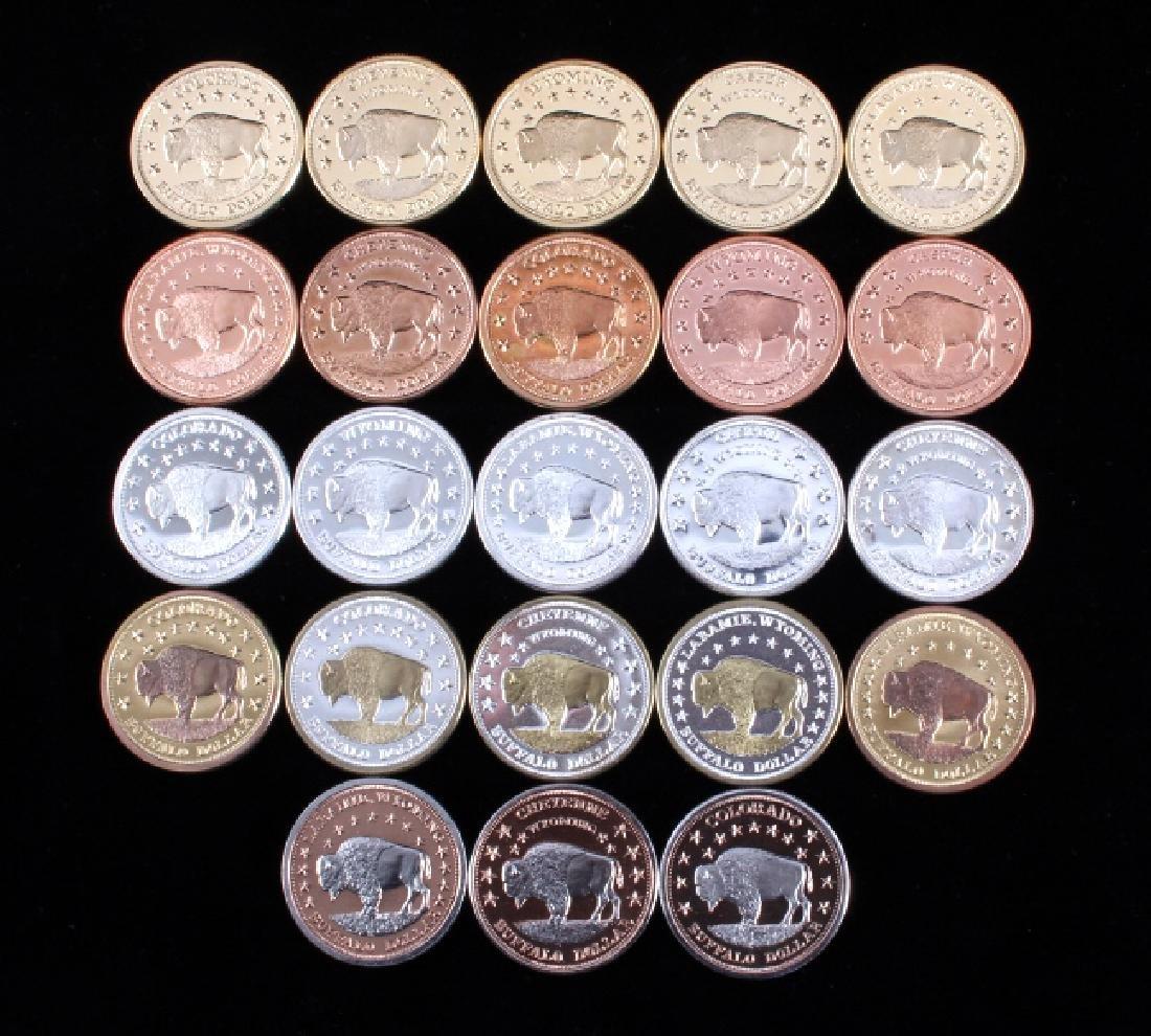 Buffalo Commemorative Dollar Coin Collection