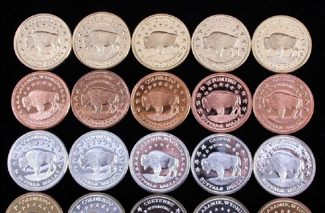 Buffalo Commemorative Dollar Coin Collection - 2