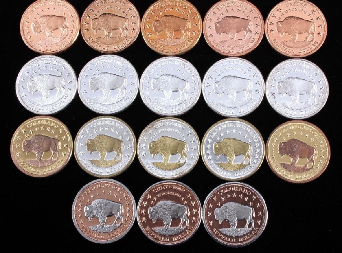 Buffalo Commemorative Dollar Coin Collection - 3