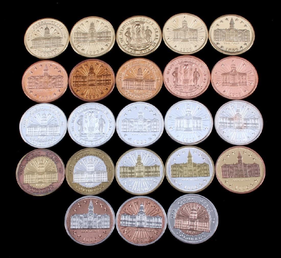 Buffalo Commemorative Dollar Coin Collection - 4