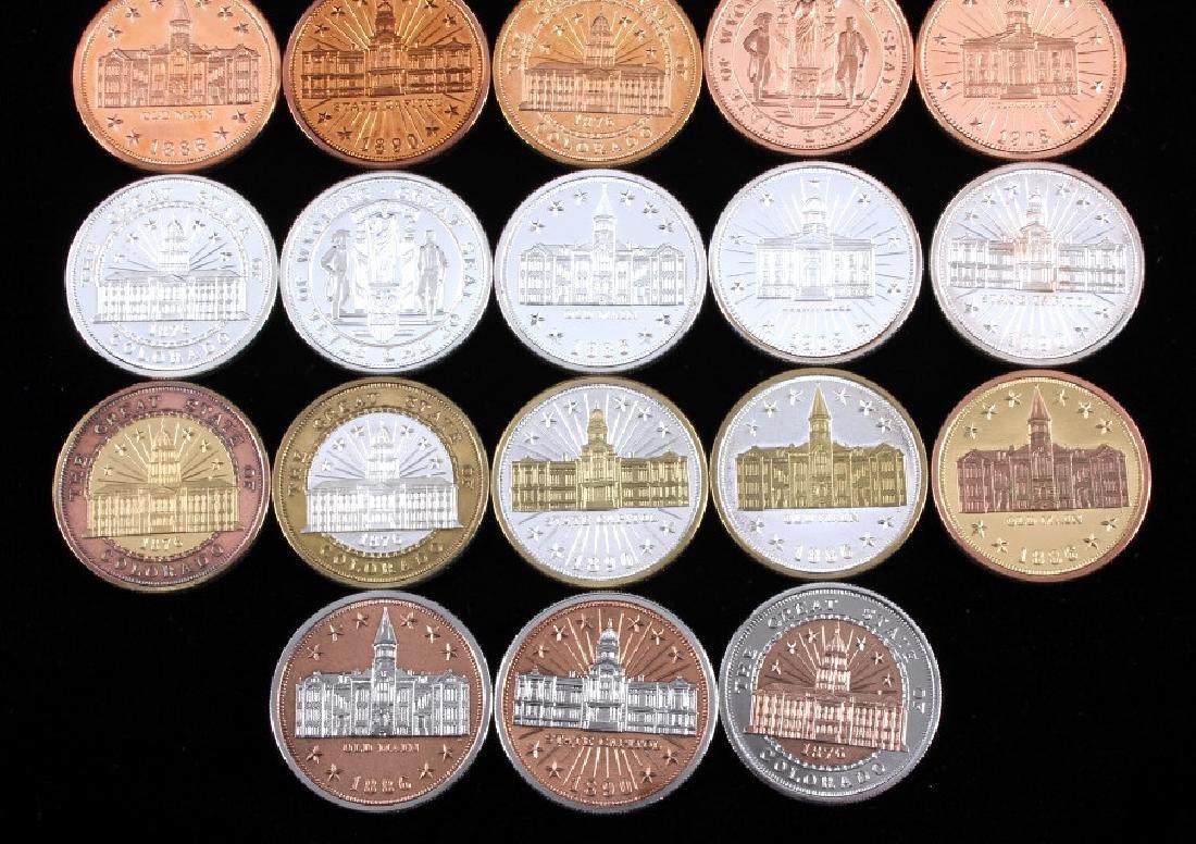 Buffalo Commemorative Dollar Coin Collection - 6