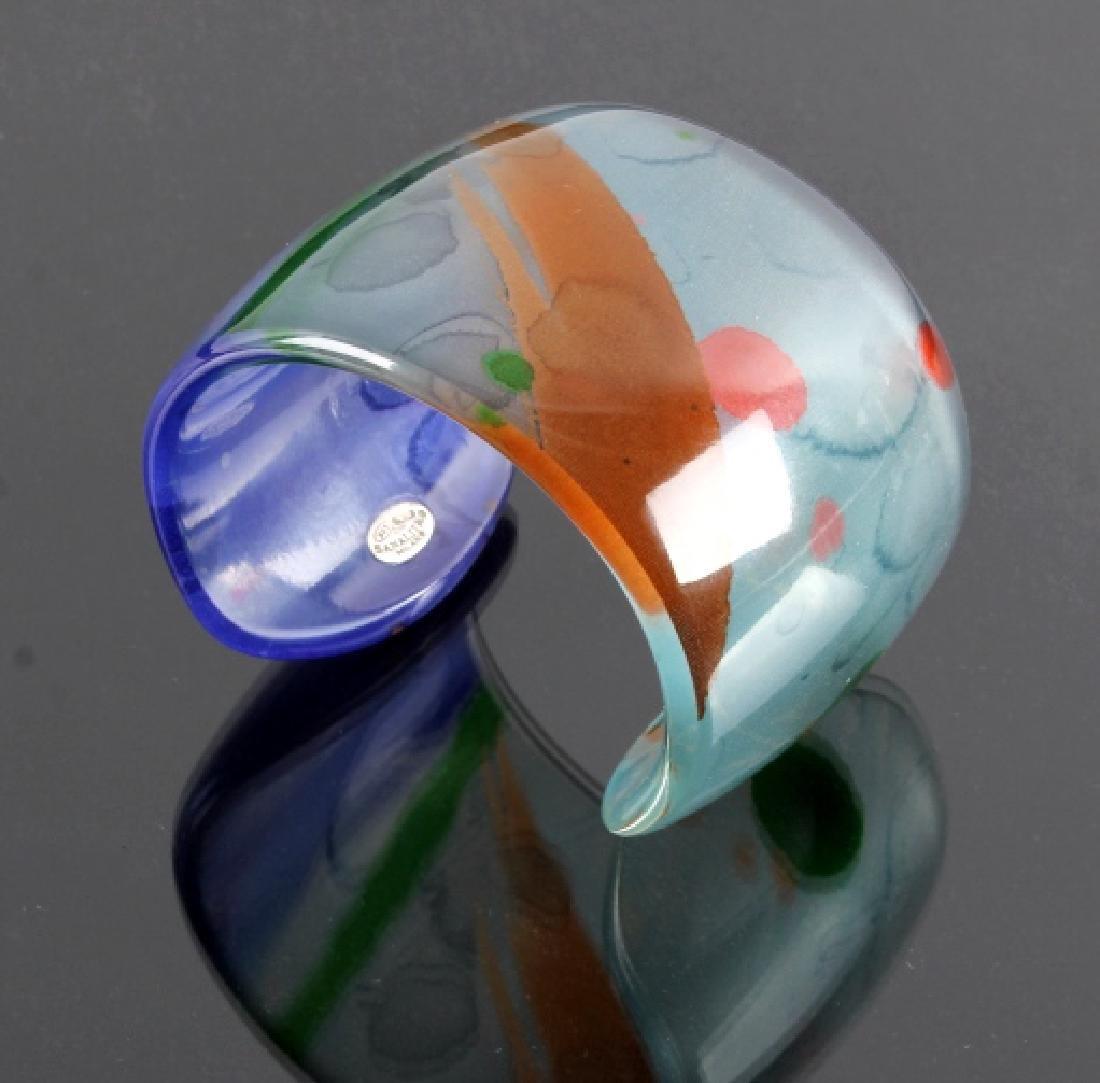 Sanalitro Italian Designer Silk Bracelet