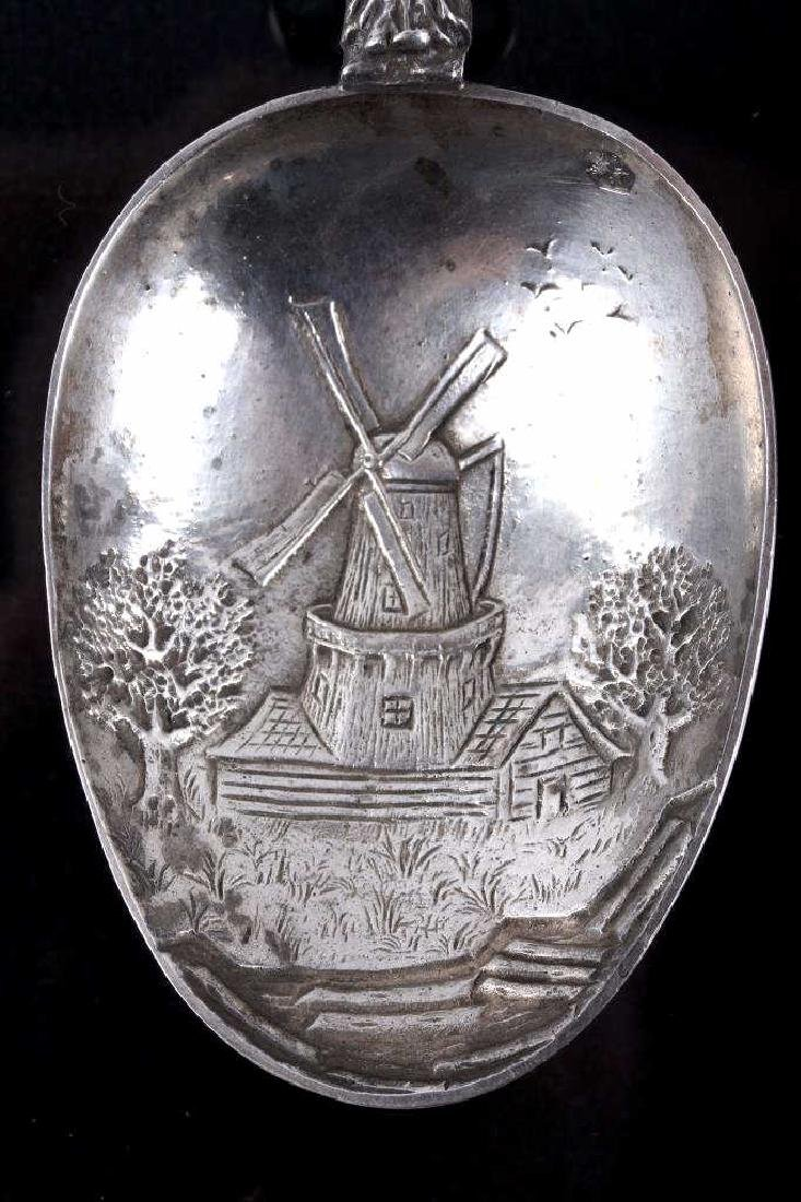 Silver Dutch Galleon Large Spoon 1907 - 3