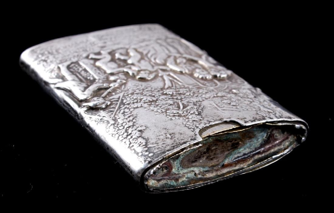 Antique Silver Match Safe - 3