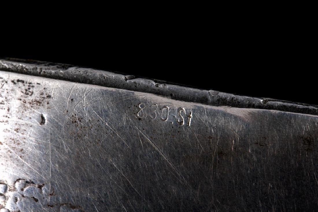 Antique Silver Match Safe - 8