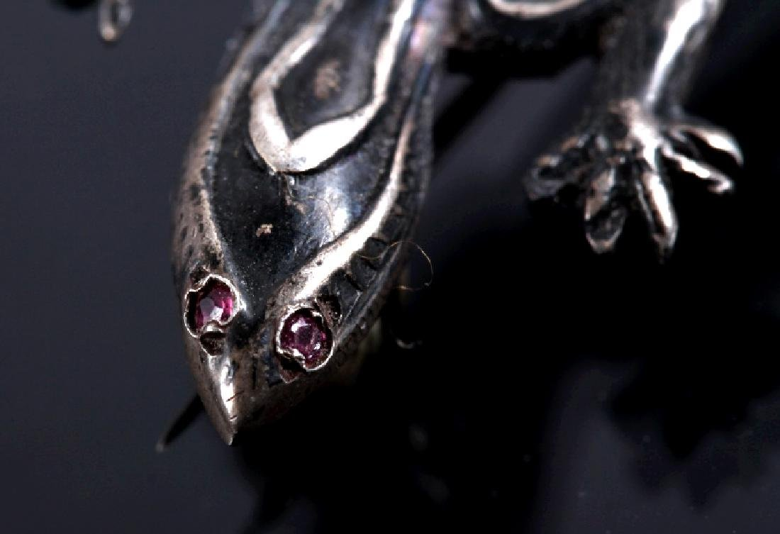 Three Sterling Silver Brooches - 3