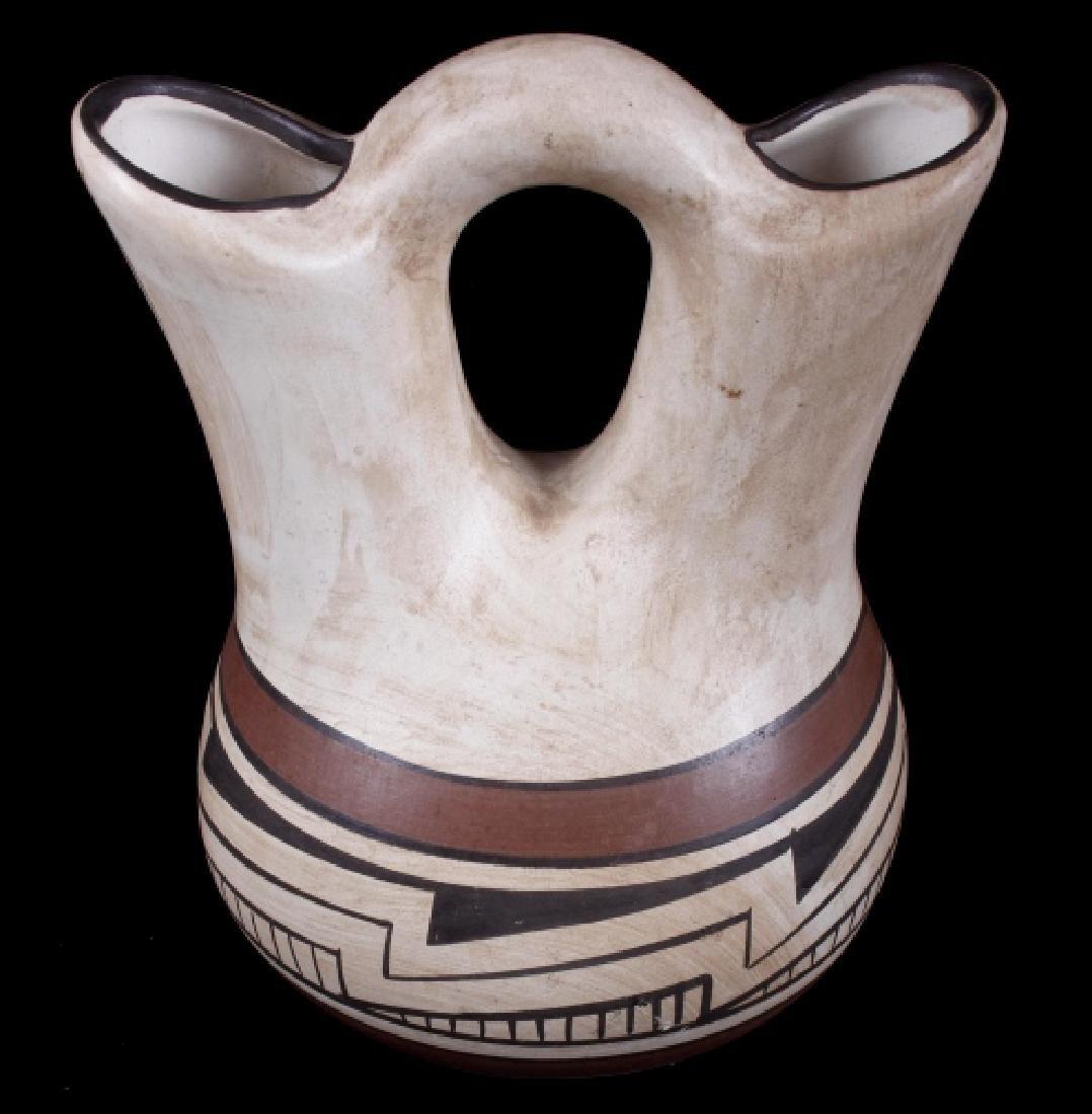 Pueblo Native American Indian Wedding Vase