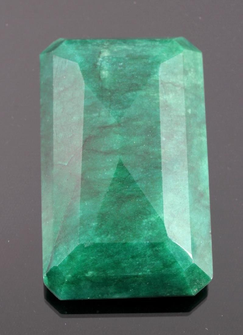 433ct. Faceted Natural Brazilian Emerald Gemstone - 2