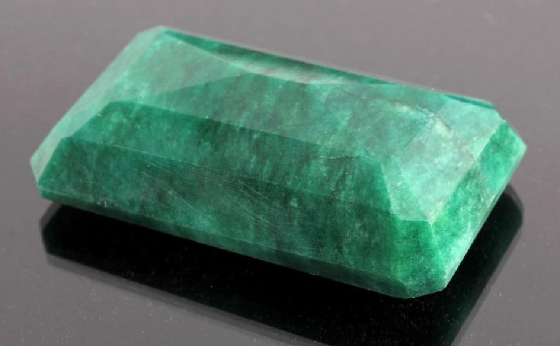 433ct. Faceted Natural Brazilian Emerald Gemstone - 4