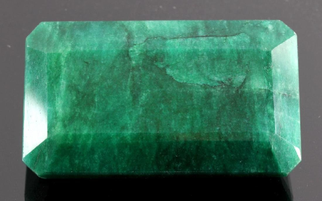 433ct. Faceted Natural Brazilian Emerald Gemstone - 5