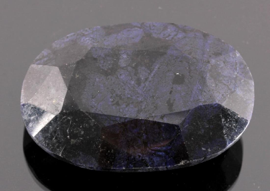 632ct. Faceted Natural African Sapphire Gemstone - 4
