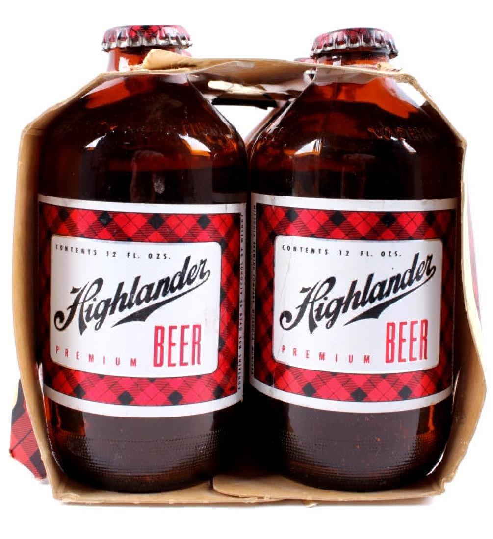 Highlander Beer Case And Six Pack Bottles - 19