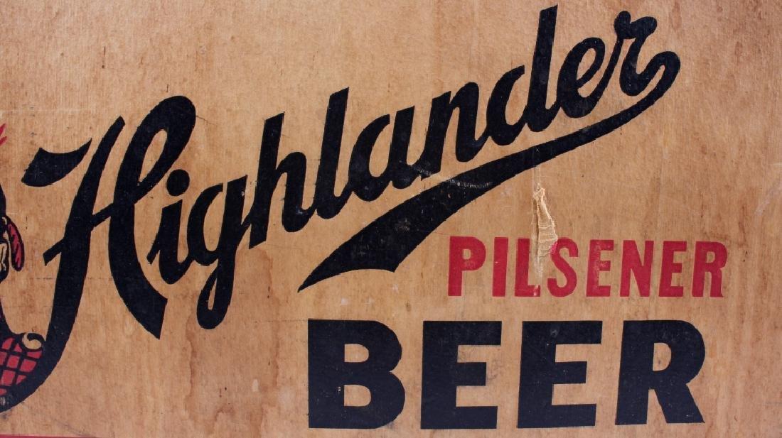 Highlander Beer Case And Six Pack Bottles - 4