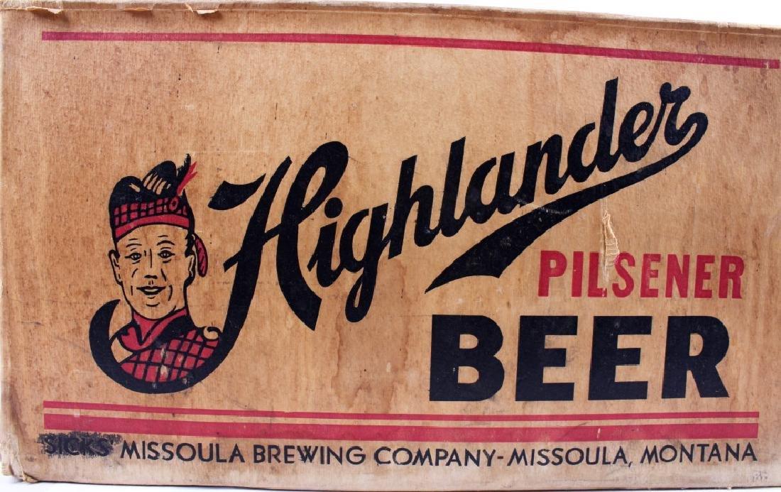 Highlander Beer Case And Six Pack Bottles - 5