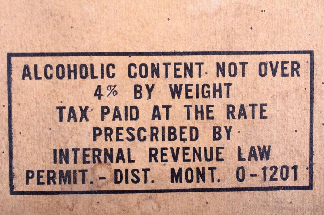 Highlander Beer Case And Six Pack Bottles - 8