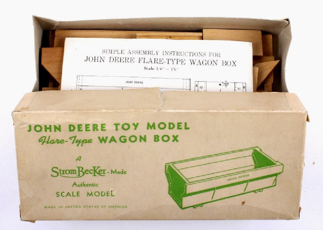 Original In The Box Strombecker John Deere Wagon