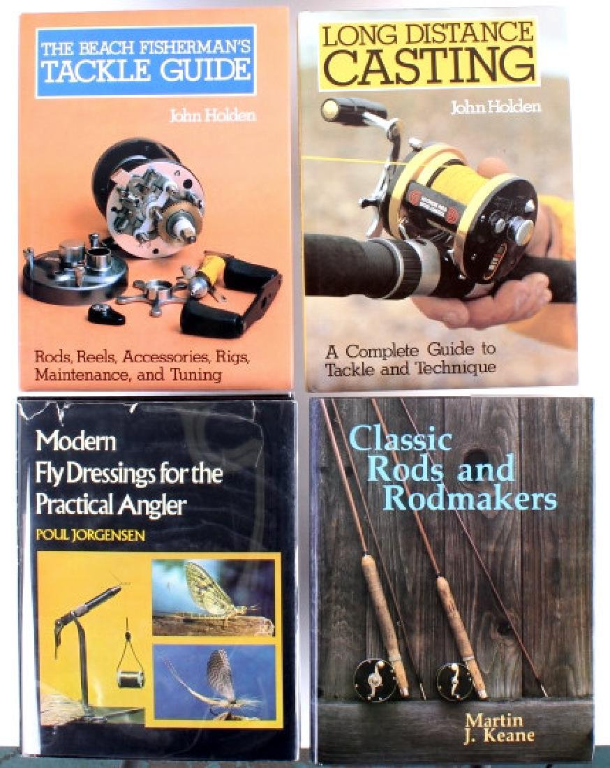 Collection Of Rare Fresh/ Saltwater Fishing Books