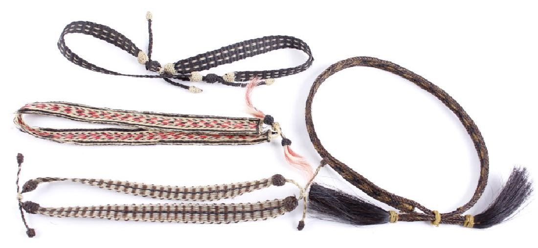 Antique Braided Horsehair Cowboy Hat Bands (4)