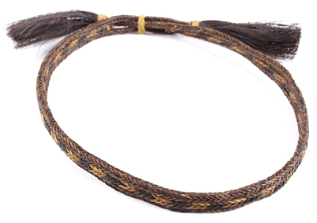 Antique Braided Horsehair Cowboy Hat Bands (4) - 2