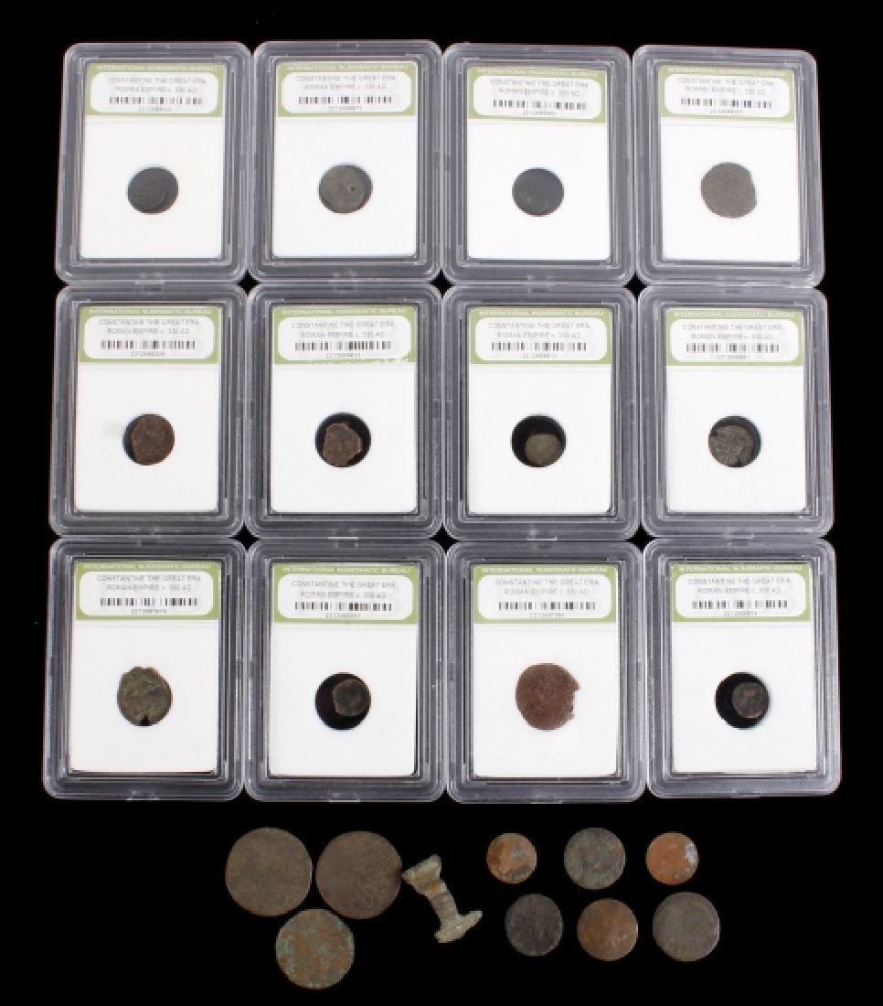 Roman Empire - Constantine the Great Era Coins