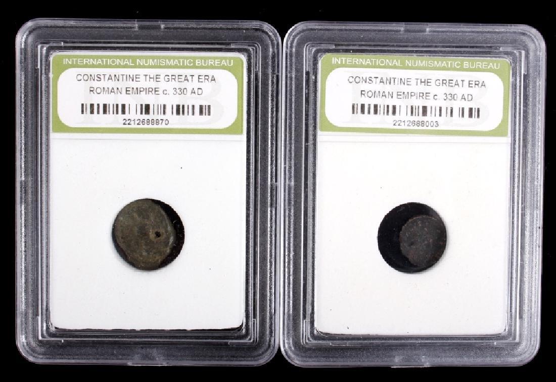 Roman Empire - Constantine the Great Era Coins - 2