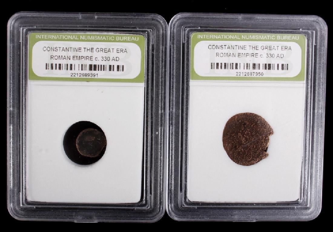 Roman Empire - Constantine the Great Era Coins - 5