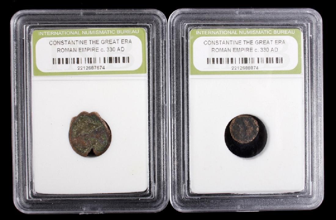 Roman Empire - Constantine the Great Era Coins - 6