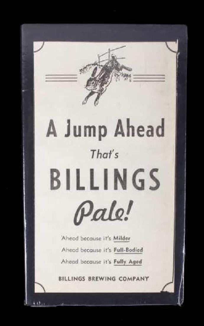 Billings Brewing Company Newspaper Clippings - 12