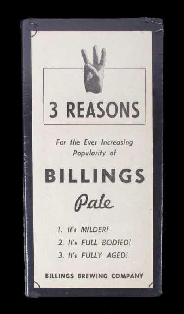 Billings Brewing Company Newspaper Clippings - 14