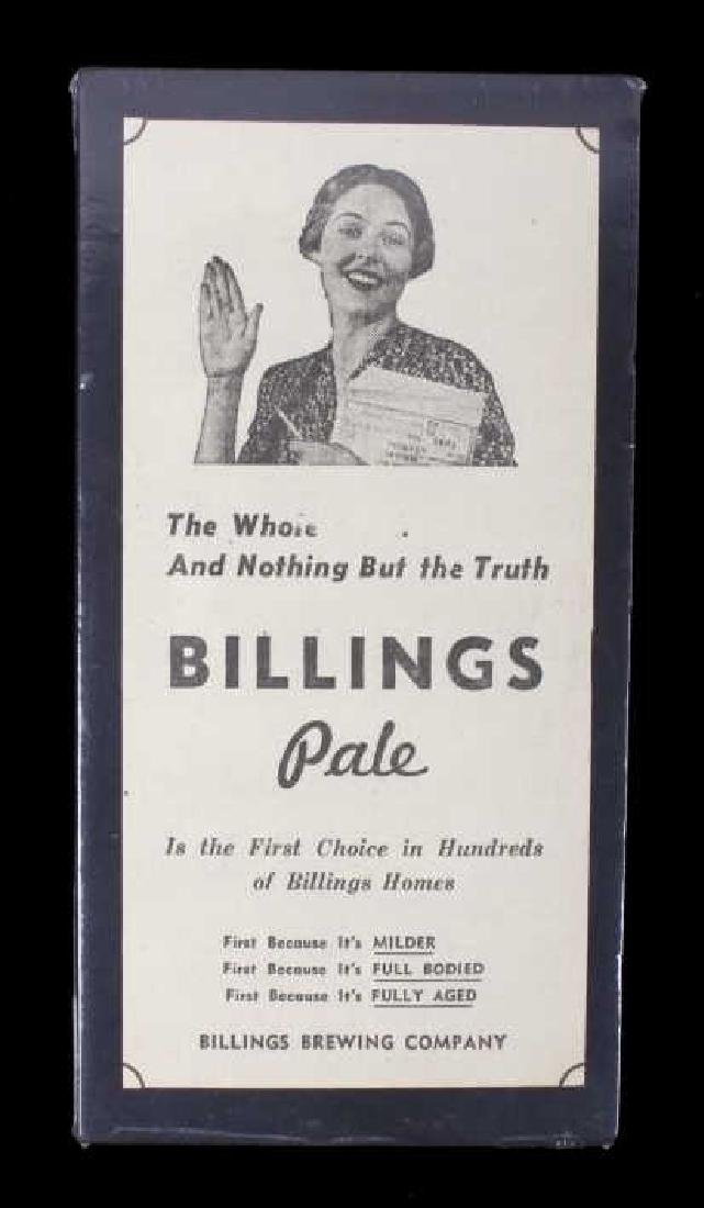 Billings Brewing Company Newspaper Clippings - 8
