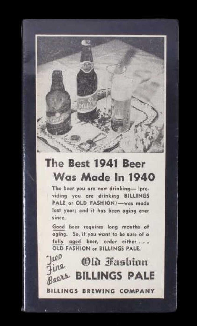 Billings Brewing Company Newspaper Clippings - 9