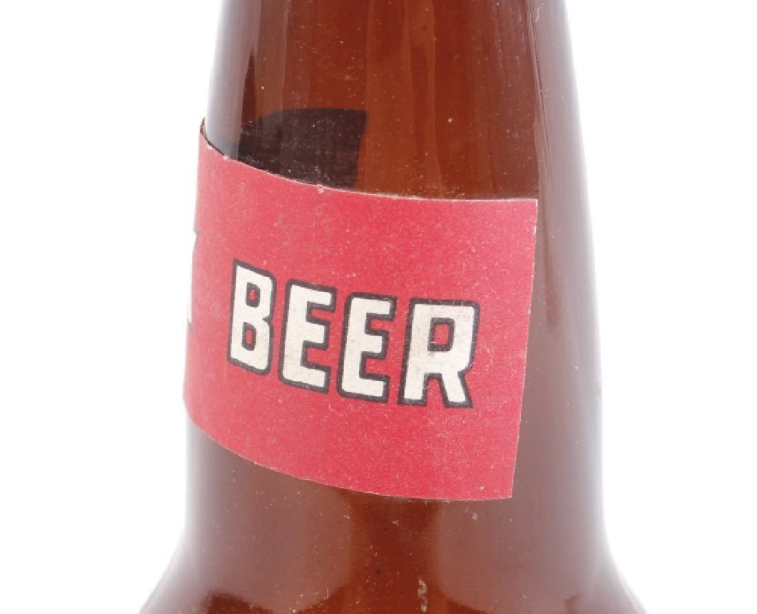 Anaconda Brewing Bock Beer Bottle & Advertisement - 10
