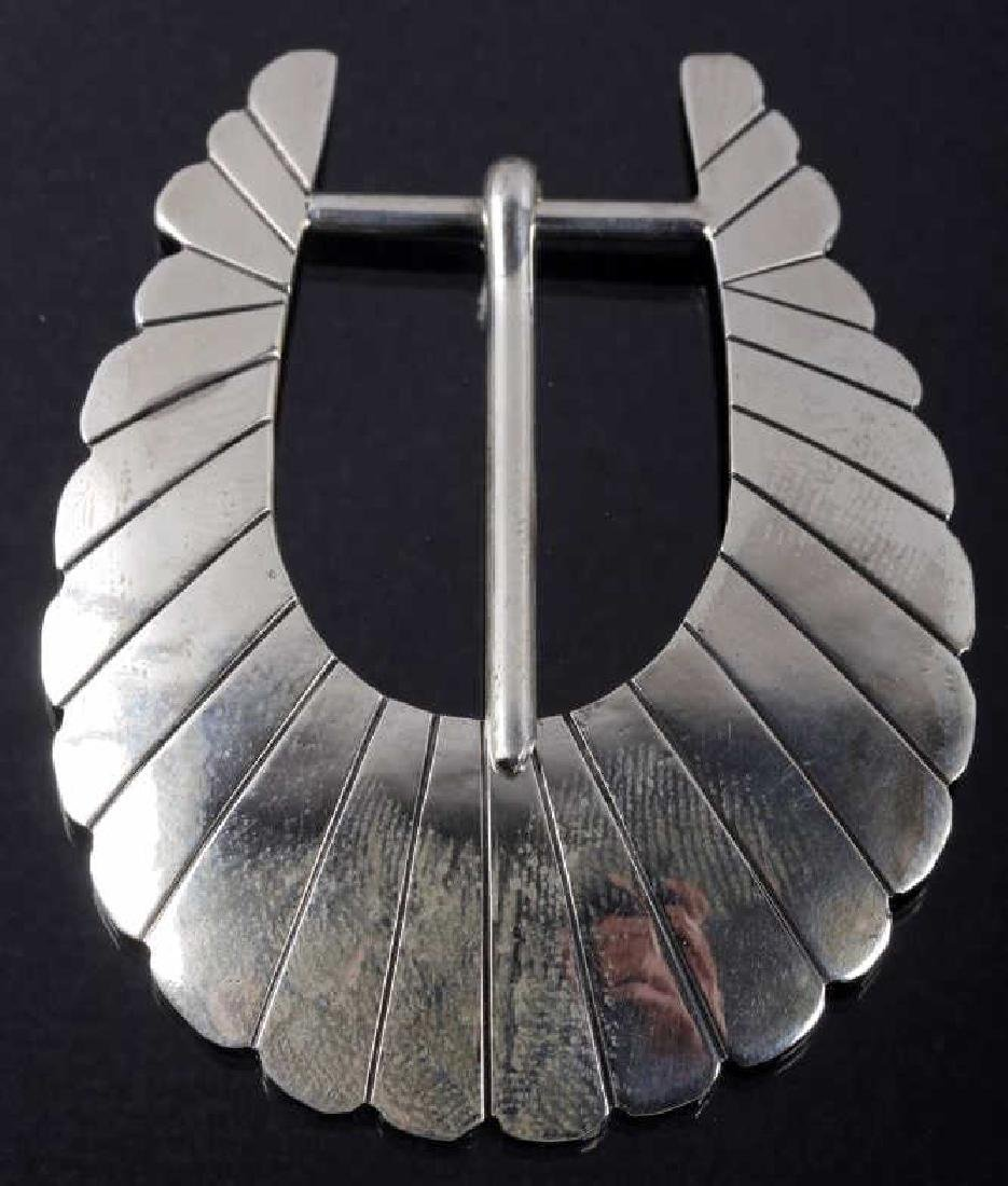 Traditional Navajo Native Indian Sterling Belt Kit - 2